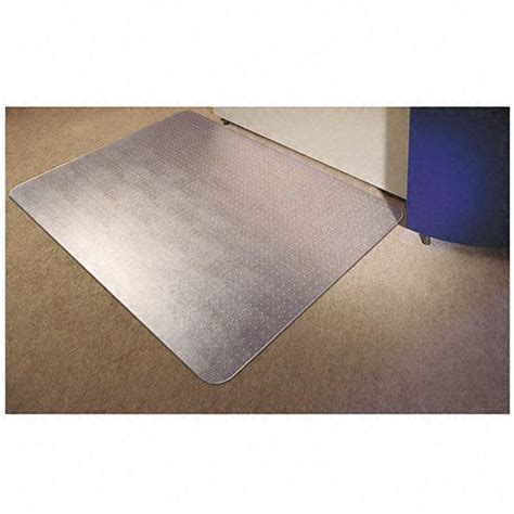 floortex polycarbonate chair mat 48 x 60 clear office