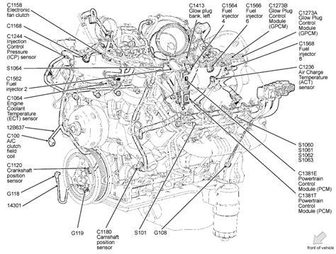7 3 Powerstroke Diesel Engine Diagram by Ford 7 3 Diesel Engine Diagram Automotive Parts Diagram