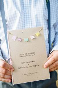 25 best ideas about order of service on pinterest With quirky diy wedding invitations