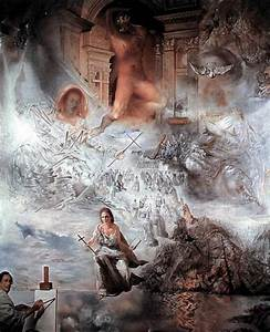 Salvador Dali :: Ecumenical Council Art Print