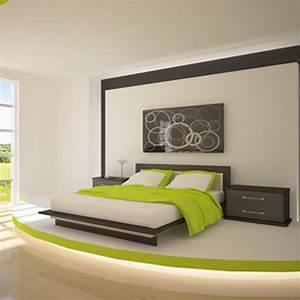 Wand Farbig Streichen Ideen : schlafzimmer streichen ideen ~ Lizthompson.info Haus und Dekorationen