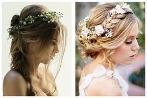 Couronne Fleur Cheveux Mariage : quelle coiffure pour son mariage ~ Melissatoandfro.com Idées de Décoration