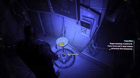 batman arkham knight freeze blast location  panessa