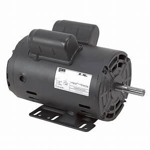 3 Hp 230 Vac 3450rpm Weg Air Compressor Motor