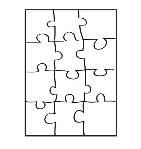 Puzzle Template Puzzle Template 19 Free Psd Png Pdf Formats