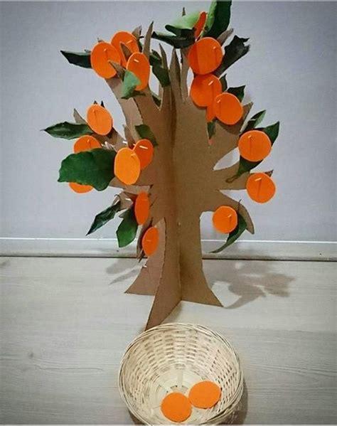 orange craft  preschool funny crafts
