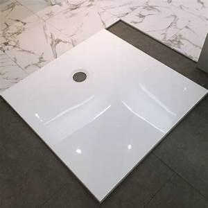 Receveur De Douche Carré 100x100 : receveur de douche arone carr blanc brillant 100x100 cm ~ Edinachiropracticcenter.com Idées de Décoration