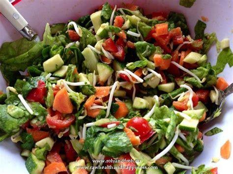 uttermost importance salad of green lettuce carrots pepper cocktail