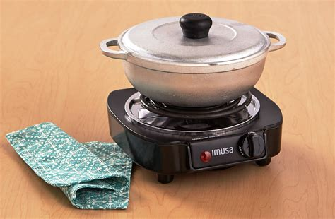 Single Burner Electric Stove Portable Travel Compact Small