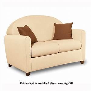 Petit canape convertible courcelles meubles et atmosphere for Canape convertible petit