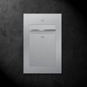 Briefkasten Mit Kamera : briefkasten edelstahl b2 bell z e ~ Frokenaadalensverden.com Haus und Dekorationen