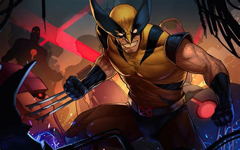 3840x2400 Wolverine Comic Suit Artwork 4k HD 4k Wallpapers ...