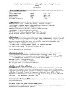 nsf biosketch template exle of biographical sketch outline for nsf