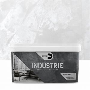 peinture a effet industrie maison deco fer blanc 4 kg With nice deco peinture salon 2 couleurs 3 peindre votre cuisine ou votre salle de bain projets