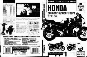 Honda Cbr 600 F1 1987 1990 Cbr 1000 F Sc21 1987 1996