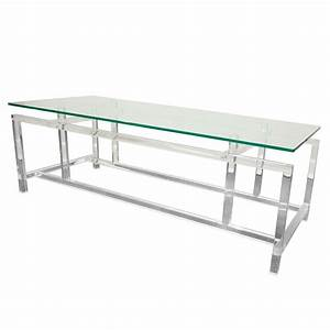 lucite and glass cocktail table after komfort for sale at With lucite coffee tables for sale