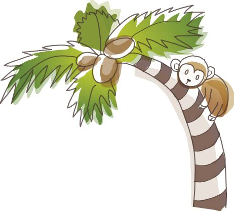 large nursery wall sticker monkey climbing tree