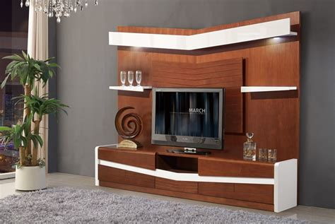 living room wooden furniture chinese tv stand design