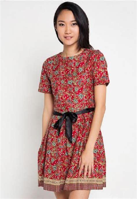 Baju Modifikasi Batik by Bagaimana Cara Modifikasi Baju Batik Modern Wanita Pendek