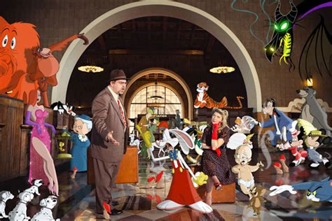 Have Fun: Toontown Roger Rabbit Themed Engagement Photo ...