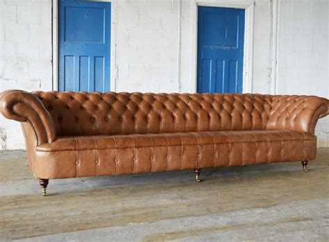 Leather Chesterfield Loveseat by Windermere Leather Chesterfield Sofa Abode Sofas