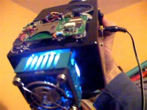 diy homemade small led projector youtube