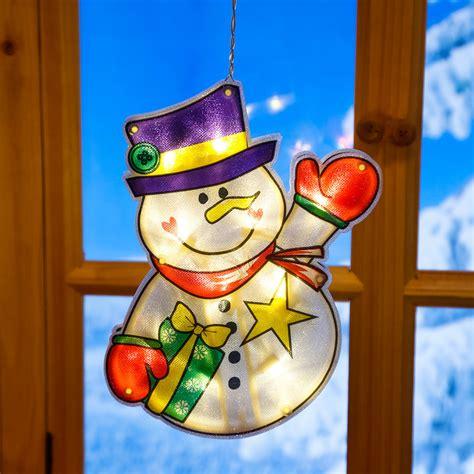 Led Fensterdeko Weihnachten by Led Fensterdeko Schneemann Matz Kaufen Bei G 228 Rtner