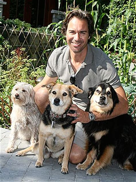 eric mccormack dad eric mccormack pound puppies star is proud dad of