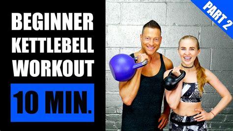kettlebell workout beginner fat minute beginners burning