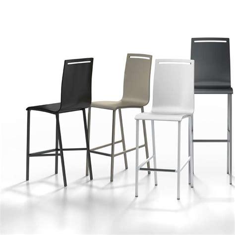 chaise de bar hauteur 65 tabouret snack en métal et bois hauteur 65 cm nera 4