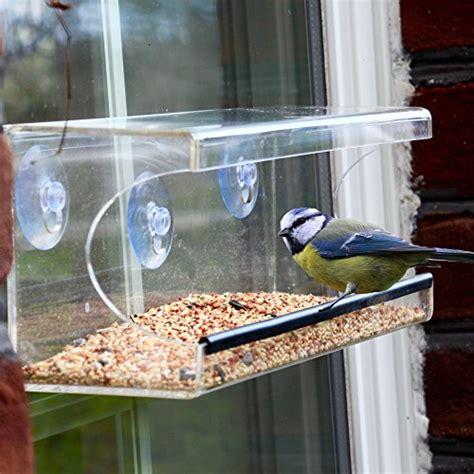 window bird feeder large window bird feeder clear see through feeder