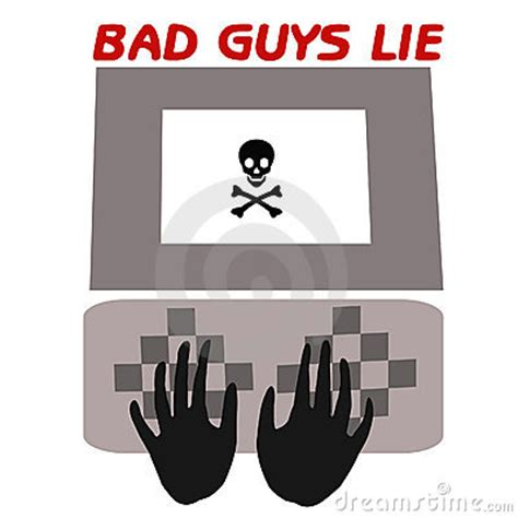 How Bad Is It To Lie On A Resume by Bad Guys Lie Royalty Free Stock Photography Image 2267887