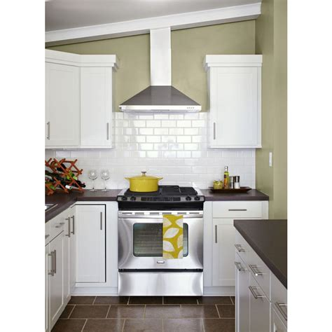 lowes tiles kitchen shop american olean starting line white gloss ceramic wall 3897