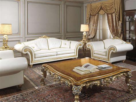 salotto classico imperial  divano  poltrone
