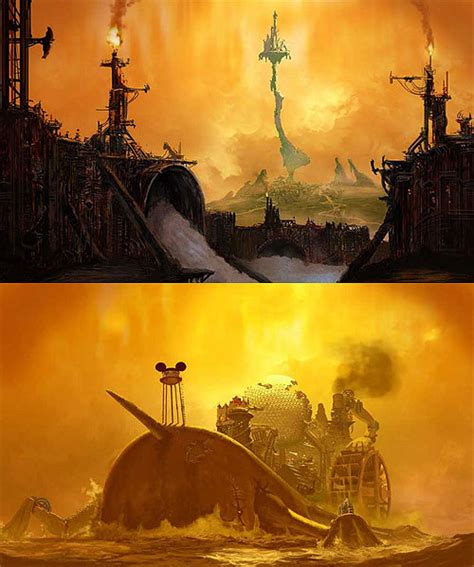 Here Have Some Rejected Epic Mickey Concept Art