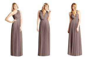 taupe bridesmaid dresses convertible bridesmaid dresses by two birds taupe onewed