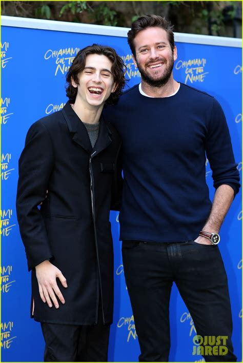 Armie Hammer's Reaction to Timothee Chalamet's New ...