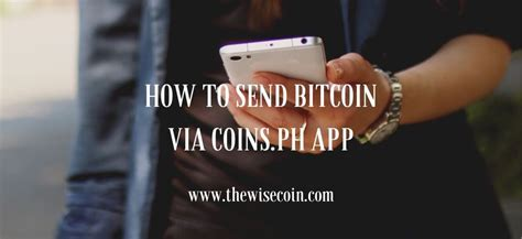 On the other hand, however, cryptocurrencies other than bitcoin can be sent to a legacy. How to Send Bitcoin via Coins.ph App | The Wise Coin