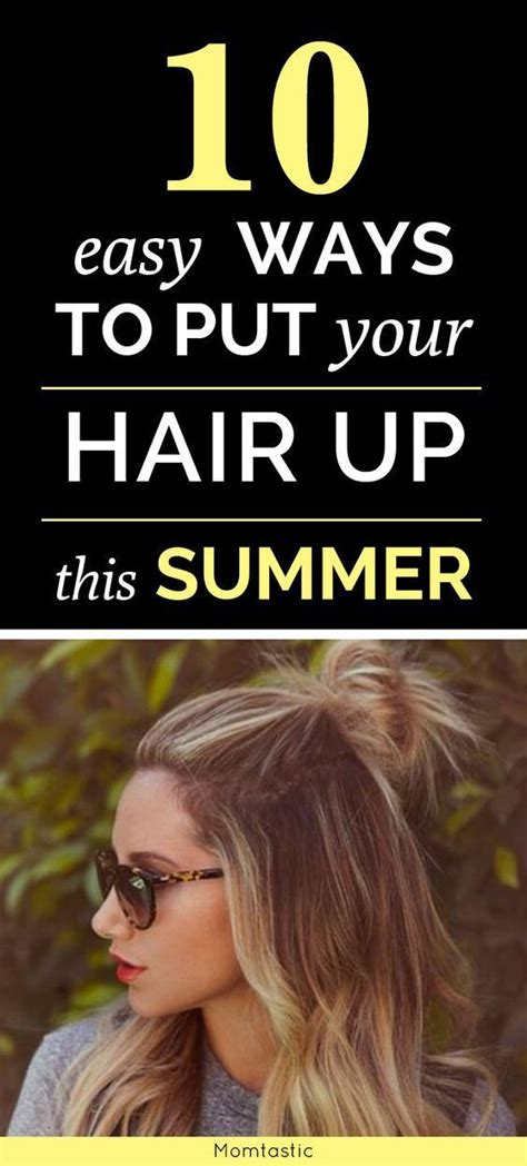 putting hair up styles 31 easy ways to put your hair up beyond a basic ponytail 5817