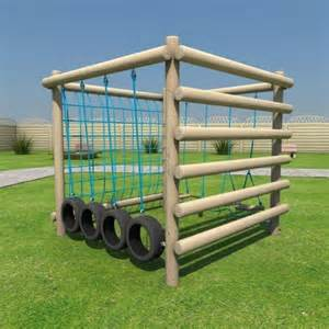 Homemade Playground Equipment Ideas
