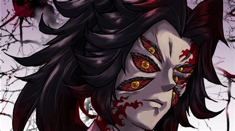 demon slayer kokushibou   eyes hd anime wallpapers