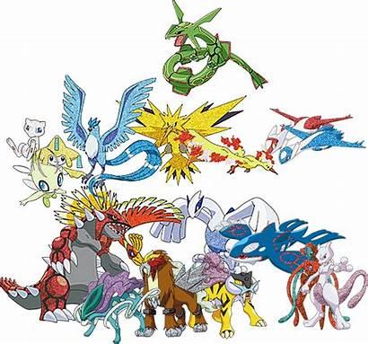 Pokemon Shiny Legendary