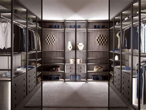 Walk In Wardrobe by Palo Alto Wood And Glass Walk In Wardrobe By Misuraemme