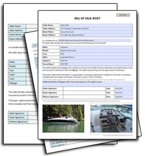 car bill  sale sample  printable forms pictures