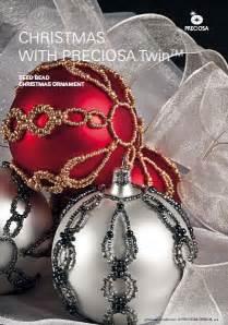 beautiful beaded christmas ornament tutorial the beading gem s journal