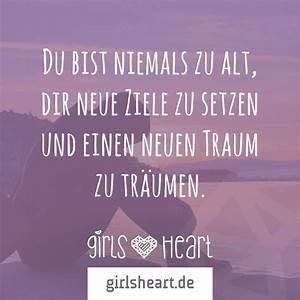 Du Bist Ein Traum : du bist nie zu alt um einen neuen traum zu tr umen girlsheart ~ Orissabook.com Haus und Dekorationen