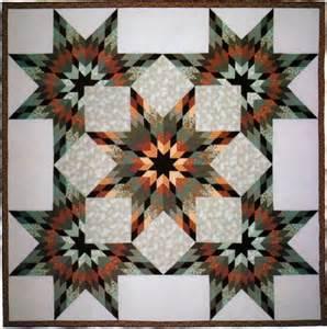 Judy Martin Log Cabin Star Quilt Pattern