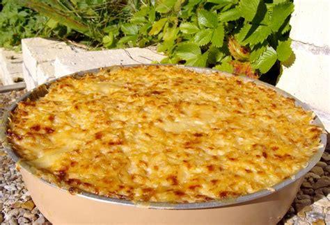 gratin de chou fleur pommes de terre au jambon recette