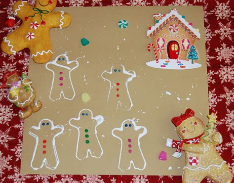 gingerbread theme activities for preschool and 199 | Gingerbread Blog 001