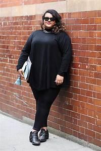 Womenu0026#39;s Black Tunic Black Leggings Black Studded Leather ...